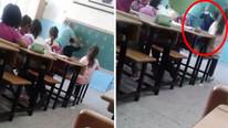 ''D'' harfini yazamadı diye öğrenci döven öğretmene şok !