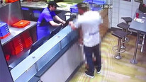 Fast food restoranında seks skandalına inanılmaz ceza