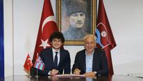 Trabzonspor'dan 3 yıllık imza