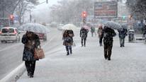 Meteoroloji'den 6 il için kuvvetli kar yağışı uyarısı