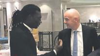 FIFA Başkanı Infantino'dan Gomis'e flaş sözler