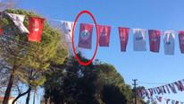 HDP ile CHP bayrakları olay olmuştu... Emniyet'ten açıklama