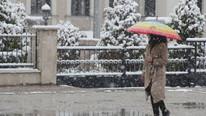 Kar yağışı fena bastırdı ! Bu fotoğraf Türkiye'den