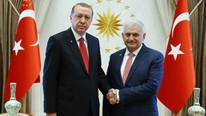Beştepe'de sürpriz görüşme Başbakan'ı kabul etti
