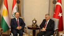 Başbakan Yıldırım Mesut Barzani ile görüştü