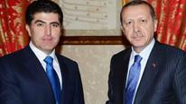 Cumhurbaşkanı Erdoğan'ın Barzani'yi kabulü başladı