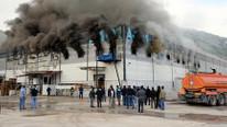 Dev marketler zincirinde büyük yangın