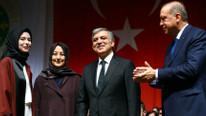 Erdoğan, Gül çifti ile aynı sahnede buluştu