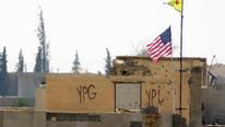 ABD bayrağı ve PKK paçavrası indirildi