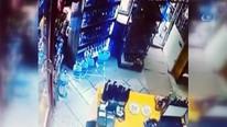 Manisa'daki deprem güvenlik kamerasında