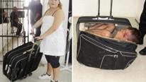 Kaçakçının valizinden bakın ne çıktı