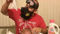 Sosyal medya bu ''çılgın baba''yı konuşuyor !