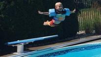 Sosyal medya onu konuşuyor: Bu bebek uçuyor !