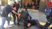 Ankara'da polis müdahalesi ! Karga tulumba gözaltına alındılar