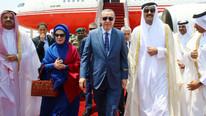 Erdoğan'ın gelişi ülkede gündem oldu