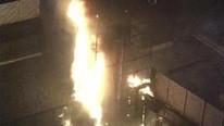 İstanbul'da 5 yıldızlı otelde korkutan yangın