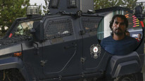 FETÖ sanığı zırhlı araçla Ankara'ya getirildi
