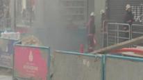 İstiklal Caddesi'nde korkutan yangın