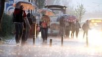 İstanbullular dikkat ! Sağanak yağış ve dolu geri dönüyor !