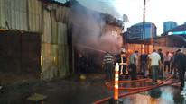 İstanbul'da kurban barınağında yangın !