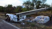 Komşu'da uçak düştü: 2 kişi kayıp...