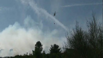 İstanbul'da askeri alanda yangın çıktı