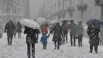 Meteoroloji'den kırmızı alarm !  Akşam fırtına, yarın kar geliyor
