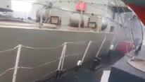 Yunan hücumbotu Kardak'ta Türk askeri botuna çarptı