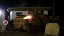 Sınıra askeri sevkiyat gece boyu devam etti