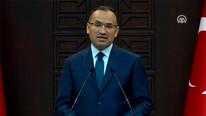 Hükümet Sözcüsü Bozdağ'dan önemli açıklamalar -canlı