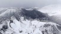 Kayak merkezinde volkan patladı ! Can pazarı...