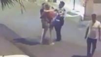 Tacize uğrayan kadını döven polisten ilginç ifade !