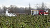 Uçak ve helikopter havada çarpıştı: 4 ölü
