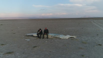 Eber Gölü tamamen kurudu