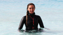Şahika Ercümen, Salda Gölü'nde rekor deneyecek !