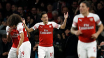 Arsenal'de Mesut Özil fırtınası !