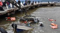Marmaris'i sağanak vurdu, 7 tekne battı !
