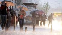 Meteoroloji'den o bölgeler için sağanak yağış uyarısı