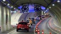 Avrasya Tüneli'nde kaza! Tünel trafiğe kapatıldı