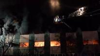 İstanbul'da sabaha karşı fabrika yangını