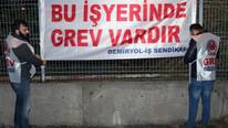 İZBAN çalışanları grev başlattı !