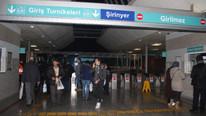 İZBAN'da grev var ! Yolcular geri döndü