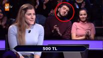 Boğaziçili yarışmacının joker kullandığı soru şaşırttı