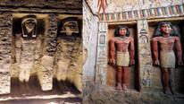 4400 yıllık Mısır lahiti ilk kez açıldı