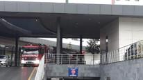 İstanbul'da hastanenin acil servisini su bastı