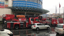 İstanbul'da AVM'nin spor salonunda yangın paniği