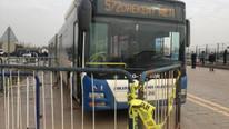 Ankara'da halk otobüsü dehşeti: Gazi ve avukatlara otobüs çarptı !