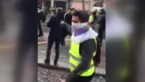 TRT'ye Paris'te sert tepki