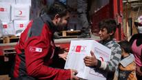 Kızılay da Afrin'de ! Harekete geçtiler
