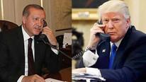 Cumhurbaşkanı Erdoğan ABD Başkanı Trump'la görüştü